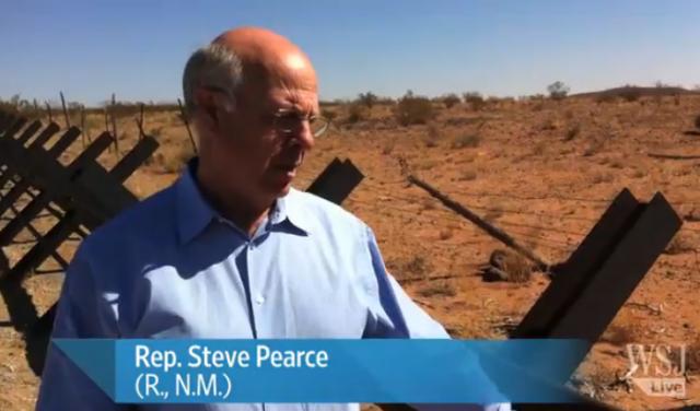 Rep. Steve Pearce (R, NM) - earning Hispanic votes