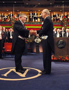 Paul Krugman Receiving a Nobel Prize In Economics