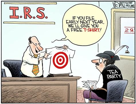 IRS intimidation