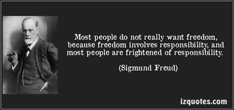 Sigmund Freud - Freedom and Responsibility