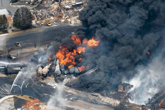 Train crash in Lac Mégantic Quebec July 6