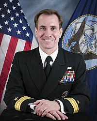 Rear Admiral John Kirby, US Navy