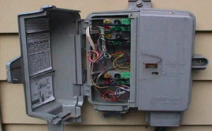 Telephone junction box