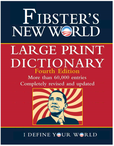 Fibsters New World Dictionary
