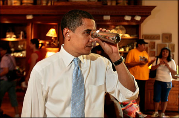 Senator Obama shopping for a political perspective