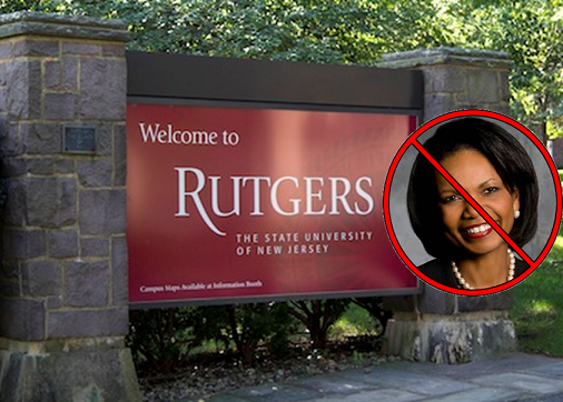 Black Conservatives Not Welcome at Rutgers