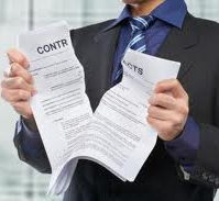 Broken contracts are no longer binding