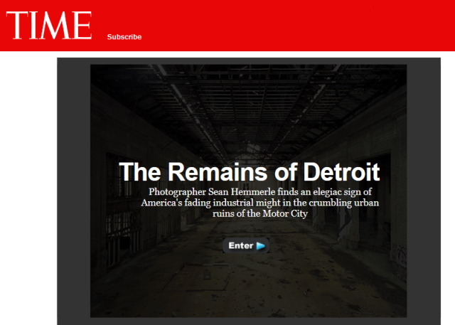 The Remains of Detroit - Time Photo Essay