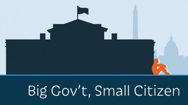 Big Government - Small Citizen