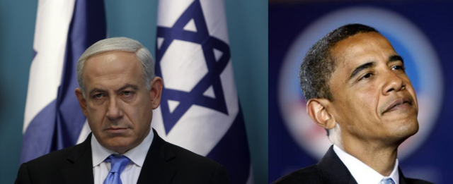 Netanyahu publically breaks with Obama